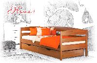 Ліжко дитяче дерев'яне Нота Плюс , фото 1