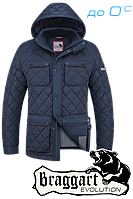 Мужская качественная куртка демисезон Braggart 1288A