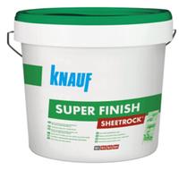 Шпаклевка Super Finish (Sheetrock) Шитрок, 28 кг Knauf