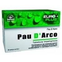 Пау Д'Арко (Pau D'Arco) 30 капс.  - для общего укрепления организма, повышения иммунитета