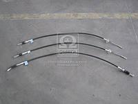 Трос ручного тормоза ГАЗ 3302 (передн. + 2 задних) (пр-во Россия), 3302-3508800