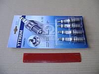Свеча зажигания YTTRIUM FR8DCX+(компл. 4 шт. блистер) (пр-во Энгельс), FR8DCX+