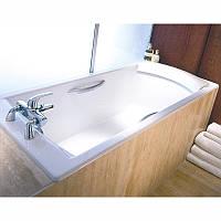 Ванна чугунная 170х75см Jacob Delafon Biove E2938 + ножки E4113-NF + ручки E60327-00, Франция