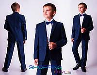 Элегантный строгий  костюм для молодого парнишки