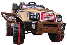 Детский электромобиль Джип HL 999 на радиоуправлении, открываются двери и багажник, фото 2