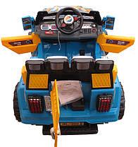 Детский электромобиль Джип HL 999 на радиоуправлении, открываются двери и багажник, фото 3