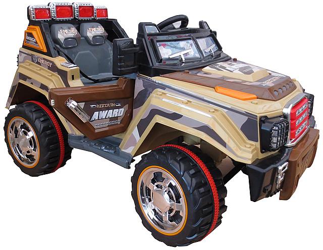 Детский электромобиль Джип HL 999 на радиоуправлении, открываются двери и багажник