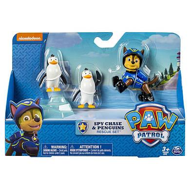 Игровой набор Щенячий патруль Чейз спасает пингвинов