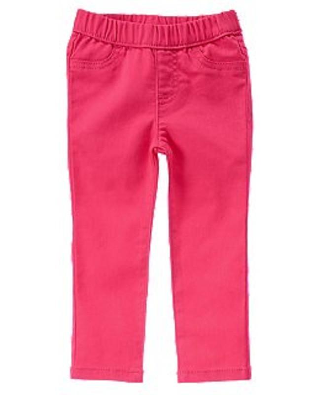 Джинсы розовые для девочки 2 года Crazy8 (США)