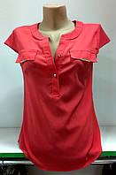 Блуза женская однотонная, фото 1
