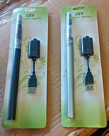 Электронная сигарета удлиненная с увеличенным объемом батареи + USB