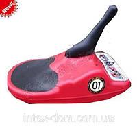 Санки MS 0524 красные
