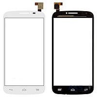 Сенсор (тачскрин) для Alcatel One Touch C7 7040, One Touch C7 7041D Original White
