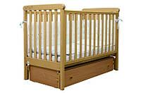Детская кроватка Верес Соня ЛД12 резьба Лапки (продольный маятник,ящик)