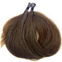 Славянские волосы на капсулах 50 см. #Неокрашенные