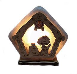 Соляной светильник Домик большой домовой