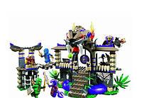 Конструктор Bela Ninja Ниндзя Храм клана Анакондрай: 528 деталей, 5 фигурок