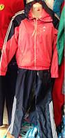 Стильный женский спортивный костюм плащевка