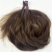Славянские волосы на капсулах 60 см. #Неокрашенные, фото 1