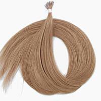 Славянские волосы на капсулах 60 см. Цвет #Клубничный блонд