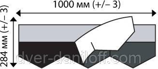 Битумная черепица IKO - Diamantshield, самоклеющаяся гибкая черепица, фото 2