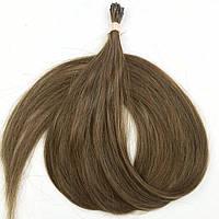 Славянские волосы на капсулах 70 см. Цвет #Русый