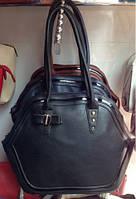 Стильная женская черная сумка