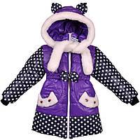 Детское зимнее пальто для девочки, фото 1