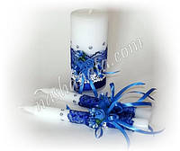 Набор свадебных свечей 046