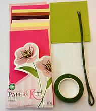 Набор для изготовления цветов из бумаги Анемон