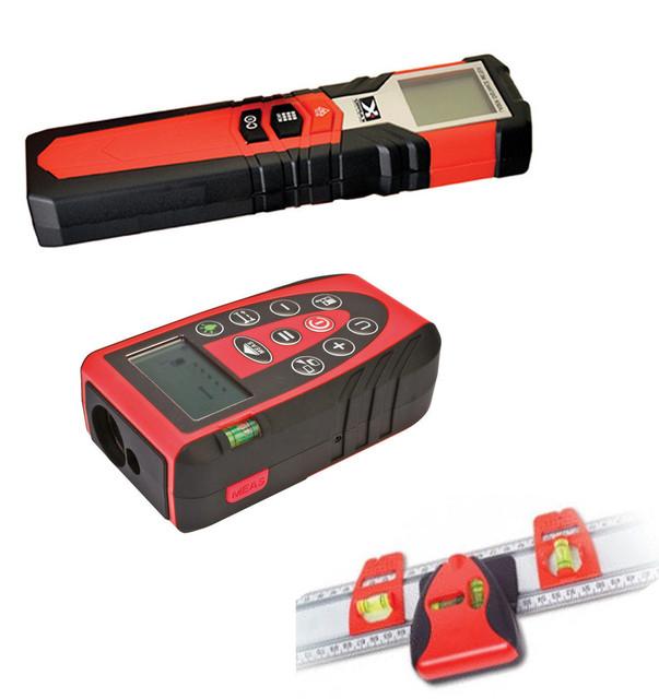 Лазерні далекоміри (рулетки), інше електронне разметочное обладнання.
