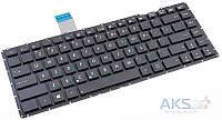 Клавиатура для ноутбука Asus (X401E, X401U, X401A) RU Black Without Frame