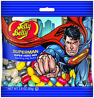 Конфеты Jelly Belly Super Hero Mix Супермен