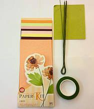 Набор для изготовления цветов из бумаги Пион