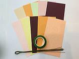 Набір для виготовлення квітів з паперу Півонія, фото 3