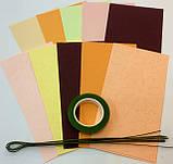 Набір для виготовлення квітів з паперу Півонія, фото 4