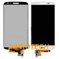 Дисплей LG D618 G2 Mini с сенсором и рамкой White Original