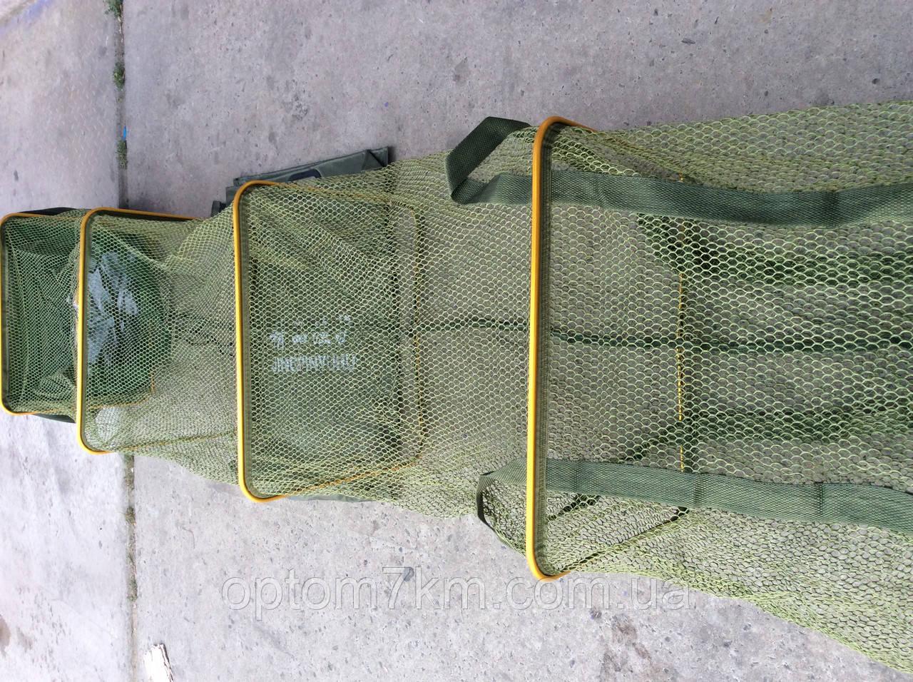 Садок JINGPINYUHU прорезинен. прямоугольный 40х200см
