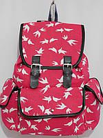 Рюкзак ласточки розово-красный, фото 1