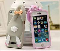 3D силиконовый чехол заяц для iPhone /6/6S