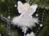 Новогодние украшения Ангелочек  подвеска ангел или елочка  0257