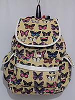 Рюкзак бабочки песочный, фото 1