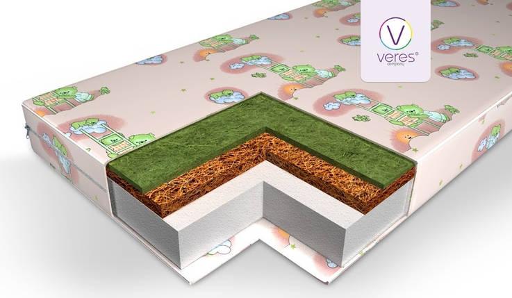 Матраc детский Верес Veres Hollowfiber LUX, 8 см , фото 2