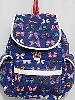 Рюкзак бабочки синий, фото 1