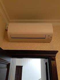 Монтаж мульти сплит-систем Daikin в частном доме н.п. Белогородка.