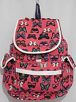 Рюкзак бабочки розовый, фото 1