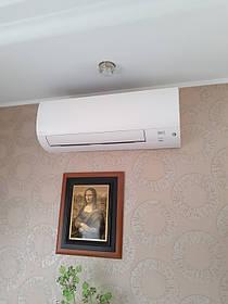 Монтаж мульти сплит-систем Daikin в частном доме н.п. Белогородка. 1