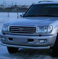 Кенгурятник одинарный ус на Toyota Land Cruiser 100 (1997-2007) Тойота Ленд Крузер