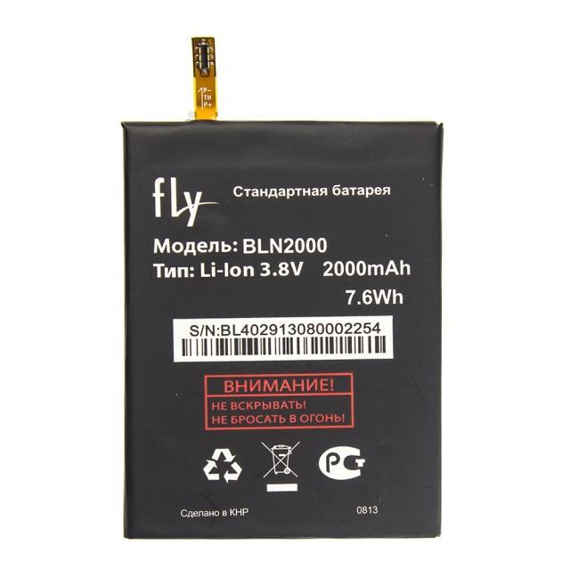 Оригинальный аккумулятор АКБ батарея Fly BL4029 / IQ4412 Quad 2000mAh