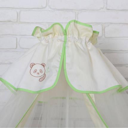 Постельный комплект 7 эл. Veres Cute Panda, фото 2